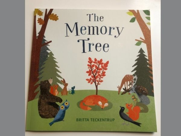 The Memory Tree children's book about bereavement